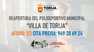 "Reapertura del Polideportivo ""Villa de Torija"""