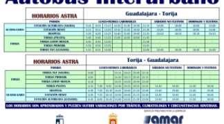 Horarios Plan ASTRA de Autobuses