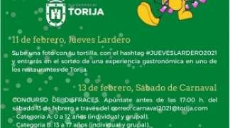 EL CARNAVAL 2.021 SE VIVIRÁ DESDE CASA.