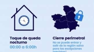 Castilla-La Mancha prorroga su cierre perimetral y el toque de queda.